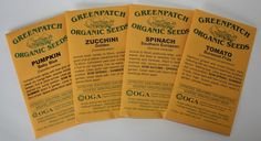 Organic Seeds & Plants Greenpatch Organic Seeds