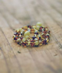Children's Baltic Amber Teething Necklace by BlissNaturals on Etsy, $24.50