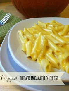 Copycat Outback Mac-a-Roo N Cheese Recipe