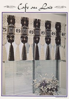 11 Macrame Patterns - Room Dividers Plant Hanger Wall Decor Valances Window Dressing Lamp Shade - Juliano's Hang It All Book 4 - SewJewel - 2