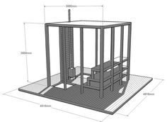 Floating sauna by Casagrande & Rintala