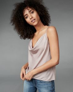A cool, comfortable cami that keeps you feeling pretty when you're just lounging around the house. Create a simply sexy look with the matching shorts and kick it in style.