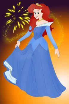Ariel as Aurora by Torenganger