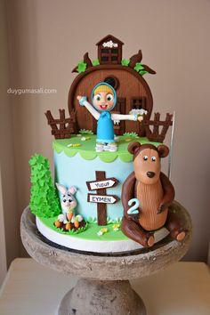 Yusuf Eymen 2 yaşında!  duygumasali.com #maşailekocaayı #mashaandthebear #mashaandthebearcake #cake #pasta #edirne #edirnepasta #edirnebutikpasta #butikpasta #sekerhamuru #fondant #like #cartoon #amazing #yum #yummy #delish #delicious #sweet #dessert #dogumgunupastasi #2thbirthday #cocukdogumgunu #cocukodasi #kidsbirthday