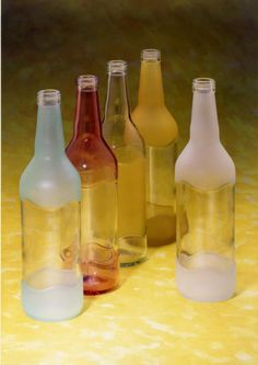 inspiration - use bottles for liquid gifts, can use glass etching compound to decorate the glass