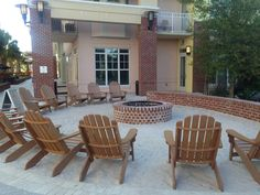 Located in the core of the Resort on the Village Plaza, our brand new Village Firepit is the perfect gathering spot for groups looking to unwind after the day's events or enjoy a to-go adult beverage from the adjacent Lettered Olive Lounge. Sand in the summer switches to oyster shells in the fall for added Lowcountry ambience with every season. Contact our Group Sales Team at 866.499.7142 to explore the possibilities. #meetinthewild http://wilddunesmeetings.com