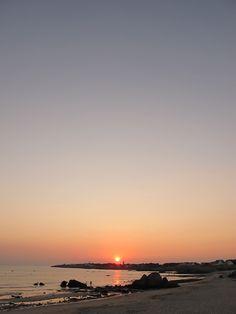 Sunset in La Govelle, Batz-sur-Mer, Pays de la Loire_ France
