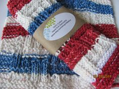 Hooray for the RED, WHITE and BLUE! by Joan Laws on Etsy