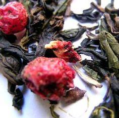 Hindbær Oolong | oolong+hindbær. Eitt fantastiskt te!