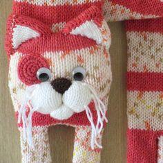 Tricot écharpe chat écharpe tricot écharpe animale foulard