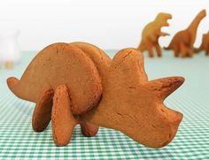 Moldes para galletas dinosaurios 3D