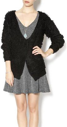 Bonded Chunky Textured Cardigan - Shop for women's Cardigan