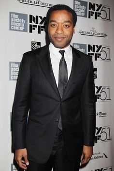 | NYFF | Chiwetel Ejiofor on the carpet at the New York Film Festival's screening of 12 YEARS A SLAVE