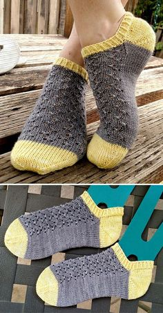 Knitted Ankle Socks with Lace - Free Pattern - Knitting for beginners,Knitting patterns,Knitting projects,Knitting cowl,Knitting blanket Knitting Blogs, Knitting For Beginners, Knitting Stitches, Knitting Patterns Free, Knit Patterns, Free Knitting, Knitting Projects, Knitting Socks, Baby Knitting