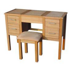 Oakridge Dressing Table and Stool – Next Day Delivery Oakridge Dressing Table and Stool from WorldStores: Everything For The Home Dressing Table Dunelm, Bedroom Dressing Table, Dressing Table With Stool, Pine Furniture, Furniture Sale, Home Furniture Shopping, Best Deals Online, Soft Furnishings, Solid Oak