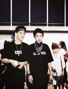 Kris and chanyeol