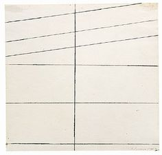 """Blinky Palermo, """"Komposition / Composition"""", 1966"""