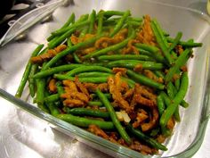 Lunches, Green Beans, Food And Drink, Yummy Food, Vegetables, Recipes, Delicious Food, Eat Lunch, Rezepte