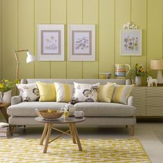 Scion Cushion. Yellow Living RoomsLiving Room ...