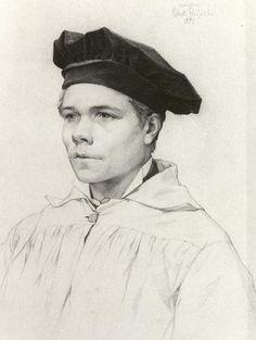 Albert Edelfelt (Finnish, 1854-1905), The sculptor Robert Stigell, 1877