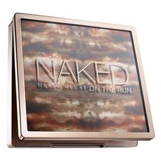 Urban Decay 'Naked on the Run' Palette (Limited Edition) (94 BRL) ❤ liked on Polyvore featuring beauty products, makeup, eye makeup, eyeshadow, urban decay eyeshadow, urban decay eye shadow, purse makeup bag, urban decay makeup bag and palette eyeshadow