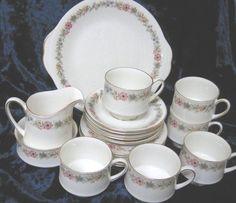 Vintage Paragon Royal Albert Teaset Belinda by TheWhistlingMan, £35.00