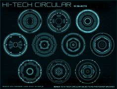 Hi-Tech Interface Builder Pack by CG cube on Behance