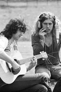 Jimmy Page guitar and Robert Plant vocals & harmonica -- Led Zeppelin