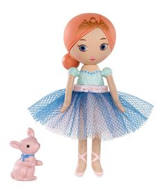 Look at this Ballerina Casia Fairytales Miniature Mooshka Doll on #zulily today!