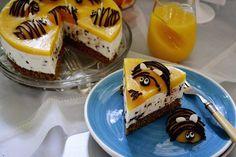 tort cu piersici si crema de mascarpone Cheesecakes, Cooking, Desserts, Food, Kitchen, Tailgate Desserts, Deserts, Essen, Cheesecake