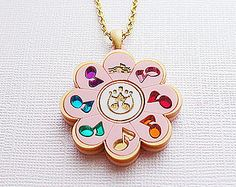 Rhythm Tap Necklace from Ojamajo Doremi Sharp Fanart Inspired for Magical Girl and Mahou Kei Fan