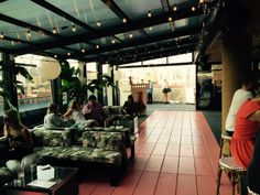Inside Tiki Tabu, The Breeziest Pop-Up Rooftop Bar On The Lower East Side: Gothamist