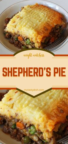Gesunde Rezepte - Shepherds Pie weight watchers friendly - Pin of perfect ideas Easy Appetizer Recipes, Healthy Dinner Recipes, Gourmet Recipes, Vegetarian Recipes, Cooking Recipes, Pie Recipes, Casserole Recipes, Potato Recipes, Cooking Ideas