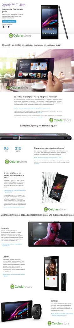 Comprar sony xperia z ultra c6833 | venta de sony xperia z ultra Argentina