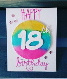 birthdaycards- 18th - 18 anni glitterati