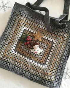 Transcendent Crochet a Solid Granny Square Ideas. Inconceivable Crochet a Solid Granny Square Ideas. Crochet Purse Patterns, Crochet Motifs, Crochet Tote, Granny Square Crochet Pattern, Crochet Handbags, Crochet Squares, Crochet Purses, Crochet Granny, Crochet Stitches