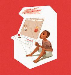 Illustrations by Sachin Teng   Inspiration Grid   Design Inspiration