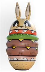 Joe Ledbetter Burger Bunny Inflatable