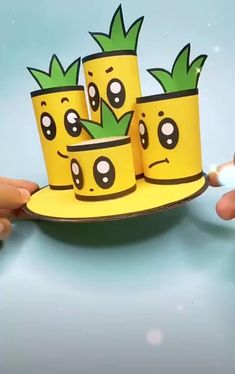 Diy Crafts For Home Decor, Diy Crafts For Kids Easy, Diy Crafts Hacks, Easy Arts And Crafts, Diy Crafts For Gifts, Toilet Paper Roll Crafts, Paper Crafts Origami, Paper Crafts For Kids, Craft Activities For Kids