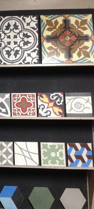 Pyramid Imports Encaustic Tile