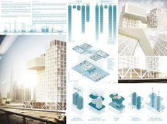 3rd Prize Competition [DUBAI] Architecture School Tower