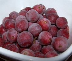 Freezing Grapes, How To Freeze Grapes, Questions and Answers to cooking and culinary questions