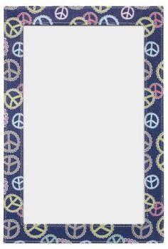 """Ganz Just My Locker - Dry Erase Board - Peace Symbol by Ganz Just My Locker. $10.99. Designed to Look Great with Wallpaper & Flowers. 8"""" W. x 12"""" H.. Add the perfect fashion touches to your fabulous locker.. Super Strong Magnets To Keep Your Stuff in Place. Transform your school locker from basic to beautiful with Ganz locker decorations that make it easy for you to have an amazing locker in no time! Express yourself through our unique mix-and-match locker design col..."""