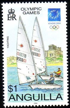 Stamp from Anguilla | Athens 2004, Olympic Games