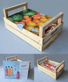 Press kit ideas - Press Kit Twister by Marcela Torres, via Behance
