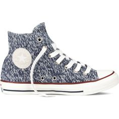 Converse Chuck Taylor All Star – blue Sneakers ($45) ❤ liked on Polyvore