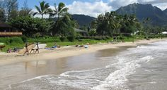 Spend some time relaxing on the beach with this travel deal to Kauai. (From: Kauai, Air, Car, 3 Nights, From $475)