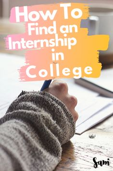 This guide will help you find an internship in college no matter your experience level. If you're a college student, having an internship will help you in your career. These tips will help you find the right college internship for you! | College Internship | College tips | study tips | Studying | College help #CollegeLife #StudyTips #Internship #InternTips