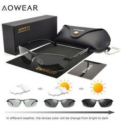 0cda03d9dc ... для женщин Для мужчин Хамелеон Очки Для мужчин Солнцезащитные очки для  женщин Очки для автоводителей Óculos lentes де сол Hombre купить на  AliExpress