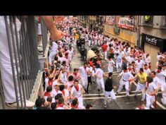 ▶ Running of the Bulls (First Run 2012) - YouTube